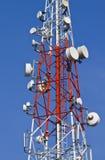 Übertragungskontrolltürme. Lizenzfreie Stockbilder