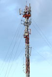 Übertragungskontrolltürme Lizenzfreies Stockbild