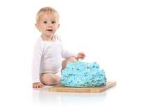 Überwältigender Kuchen des Babys Lizenzfreie Stockbilder