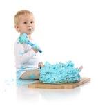 Überwältigender Kuchen des Babys Lizenzfreies Stockbild