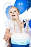 Überwältigender Kuchen des Babys Lizenzfreie Stockfotos