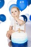 Überwältigender Kuchen des Babys Lizenzfreies Stockfoto