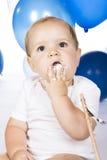 Überwältigender Kuchen des Babys Stockbild