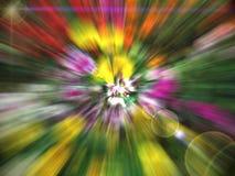 Überwältigendes göttliches helles Spektrum Stockbilder