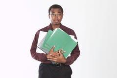 Überwältigter Mann Lizenzfreies Stockfoto