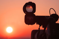 Überwachen der Sonne Stockfotos