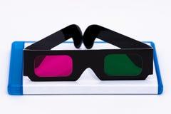 Überwachen eines Films 3D lizenzfreie stockfotografie