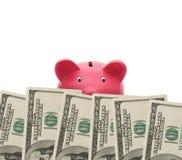 Überwachen Ihres Geldes stockfoto