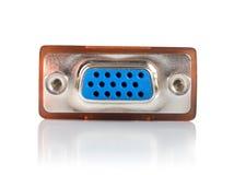 Überwachen Sie den getrennten Verbinder lizenzfreie stockfotografie
