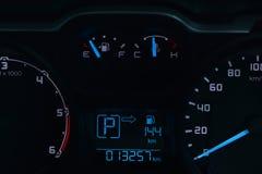 Überwachen Sie den Status des Autos Lizenzfreies Stockfoto