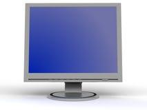 Überwachen Sie flachen Bildschirm Stockfotos