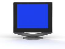 Überwachen Sie flachen Bildschirm Lizenzfreie Stockfotos