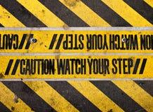 Überwachen Sie Ihren Jobstepp Stockfotos