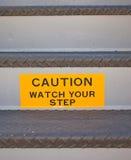 Überwachen Sie Ihren Jobstepp Lizenzfreies Stockbild
