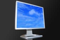 Überwachen Sie LCD Lizenzfreies Stockbild