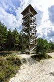 Überwachender Kontrollturm Stockbilder