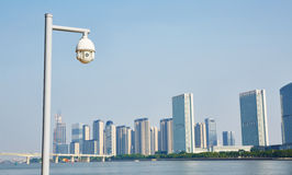 Überwachungs-Überwachungskamera Lizenzfreie Stockfotografie