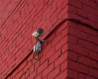 Überwachungs-Videokamera Stockbilder
