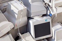 Überwachungsgeräte Stockfoto