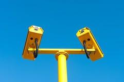 Überwachungskamera Stockbild