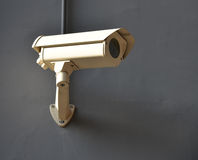 Überwachungskamera. Stockfoto