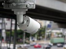 Überwachungskamera auf Straße Lizenzfreies Stockbild