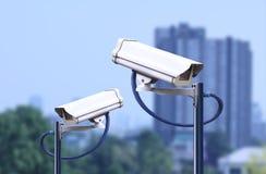 Überwachungskamera im Freien, cctv im Freien Lizenzfreie Stockbilder
