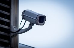 Überwachungskamera-Seite lizenzfreie stockfotografie