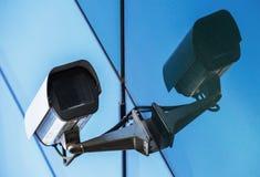Überwachungskamera und städtisches Video Lizenzfreie Stockbilder