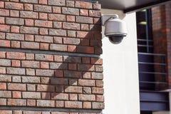 Überwachungskamera und städtisches Video Lizenzfreies Stockbild