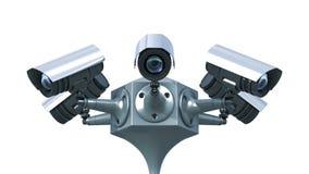 Überwachungskameras Lizenzfreie Stockfotos