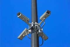 Überwachungskameras Lizenzfreie Stockfotografie