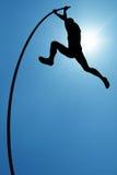 Überwinden Sie die Lebenschwierigkeiten oder Konzeptrisiko, die nehmen und fechten Sie an Lizenzfreie Stockbilder