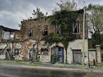 Überwuchertes Haus in Argentinien Lizenzfreie Stockfotografie
