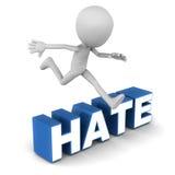 Überwundener Hass Stockfotos
