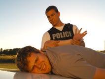 Überwundener Verbrecher Lizenzfreie Stockfotos