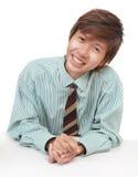 Überzeugender asiatischer Verkäufer Lizenzfreie Stockfotografie