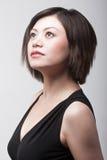 Überzeugte asiatische Frau Stockbilder
