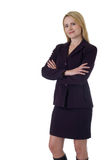 Überzeugte Berufsfrau Lizenzfreies Stockfoto