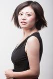 Überzeugte chinesische Frau Stockbilder