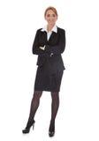 Überzeugte Geschäftsfrau Stockbild