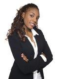 Überzeugte Geschäftsfrau Lizenzfreie Stockfotos