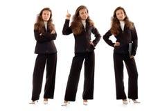 Überzeugte Geschäftsfrauen Stockfoto