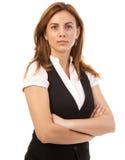 Überzeugte Geschäftsfrauen Stockbild