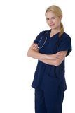 Überzeugte Krankenschwester Lizenzfreie Stockfotografie