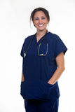 Überzeugte Krankenschwester Stockbild