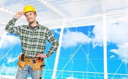 Überzeugte manuelle Arbeitskraft Lizenzfreie Stockfotos