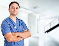 Überzeugter Doktor Stockbilder