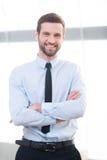 Überzeugter Geschäftsexperte Stockbilder