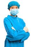 Überzeugter medizinischer Fachmann lizenzfreies stockfoto